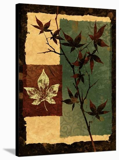 New Leaf II-Keith Mallett-Stretched Canvas Print
