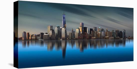 New York World Trade Center 1-Yi Liang-Stretched Canvas Print