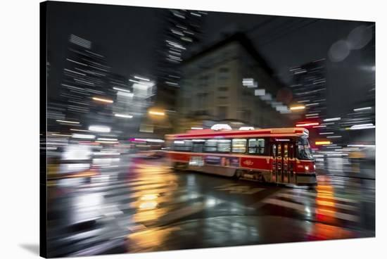 Night Moves-Jason Crockett-Stretched Canvas Print