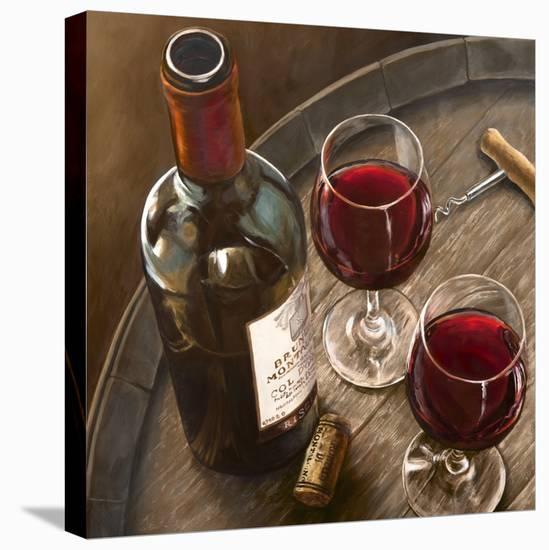 Nobilta italiana (detail)-Sandro Ferrari-Stretched Canvas Print