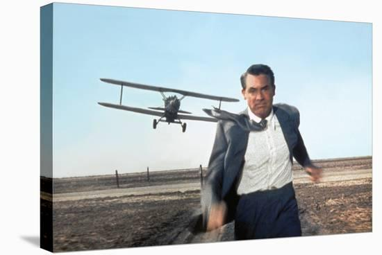 North by Northwest 1959 Directed by Alfred Hitchcock Cary Grant--Stretched Canvas Print