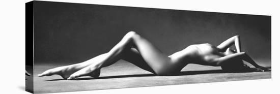 Nude Reclining-Scott McClimont-Stretched Canvas Print