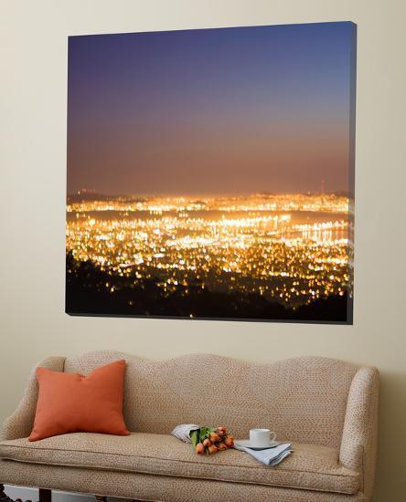 Oakland Abstract 2-Paul Edmonson-Loft Art