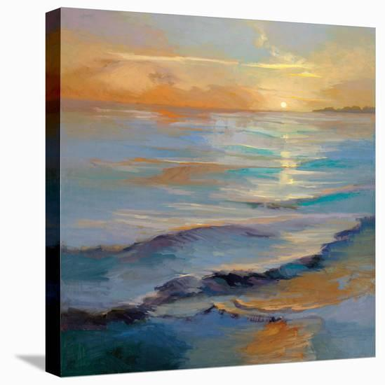 Ocean Overture-Vicki Mcmurry-Stretched Canvas Print