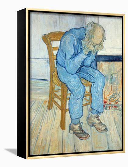 Old Man in Sorrow, 1890-Vincent van Gogh-Framed Canvas Print