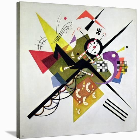 On White II-Wassily Kandinsky-Stretched Canvas Print