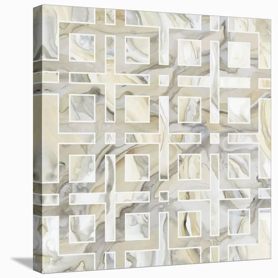 Onyx III-Debbie Banks-Stretched Canvas Print