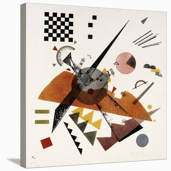 Orange-Wassily Kandinsky-Stretched Canvas Print
