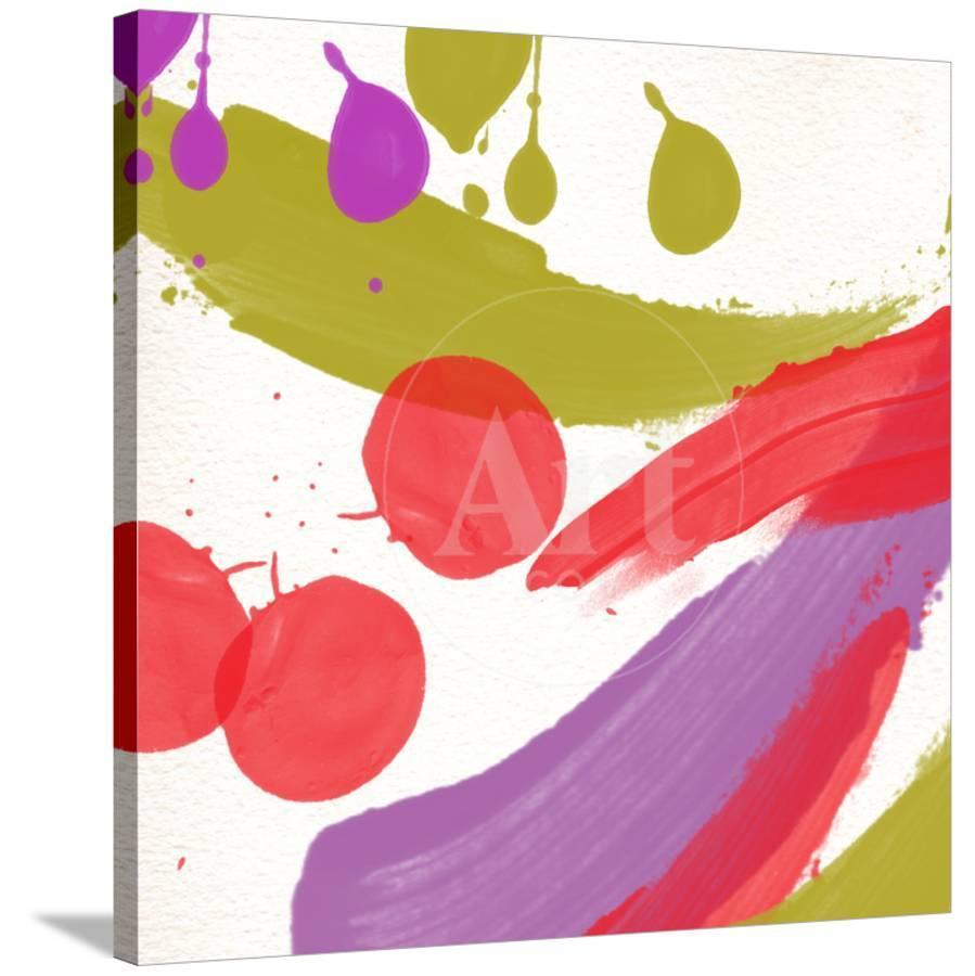 Organized Chaos Ii Stretched Canvas Print Yashna Art Com