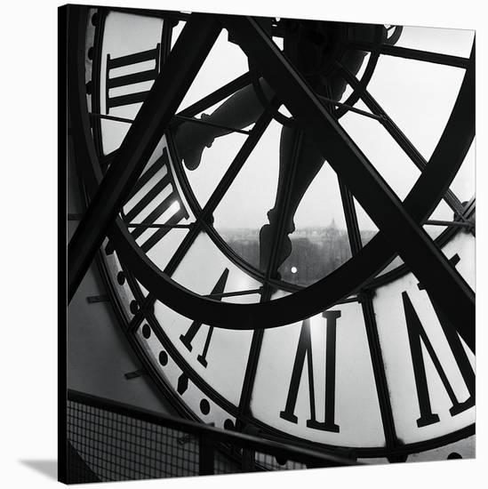 Orsay Clock-Tom Artin-Stretched Canvas