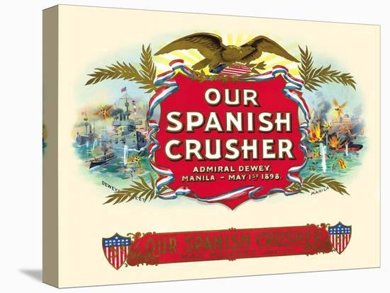 Our Spanish Crusher- Witsch & Schmitt Lihto.-Stretched Canvas Print