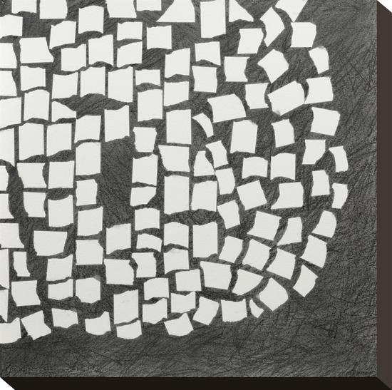 Ovoid Right-Lynn Basa-Stretched Canvas Print