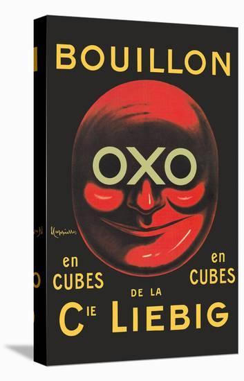 OXO Brand - Bouillon Stock Cubes - Liebig Co.-Leonetto Cappiello-Stretched Canvas Print