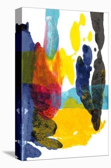 Paint Bloom III-Jodi Fuchs-Stretched Canvas Print