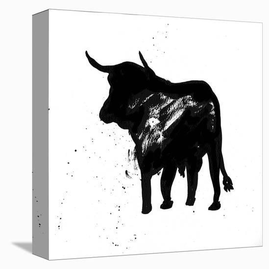 Pamplona Bull IV-Rosa Mesa-Stretched Canvas Print