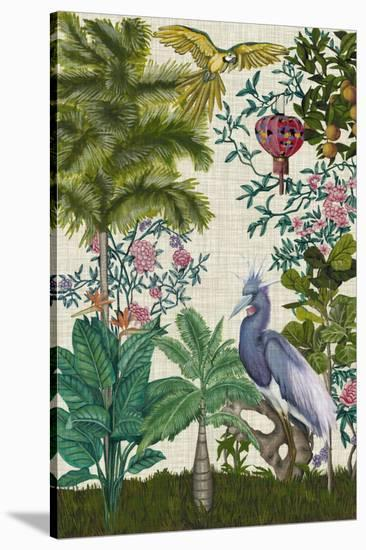 Paradis Chinoiserie I-Naomi McCavitt-Stretched Canvas Print