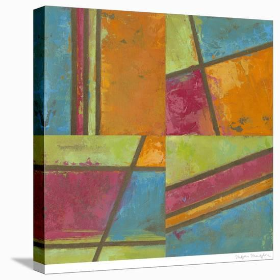 Paradise Abstract I-Megan Meagher-Stretched Canvas Print