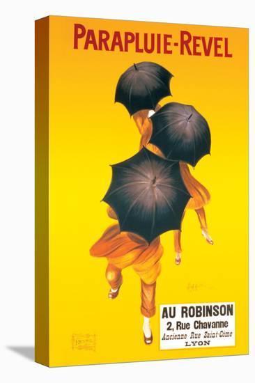 Parapluie-Revel-Leonetto Cappiello-Stretched Canvas Print
