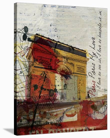 Paris, Paris--Stretched Canvas Print
