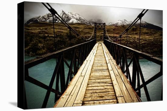 Parque Nacional Torres Del Paine Chile-www.infinitahighway.com.br-Stretched Canvas Print