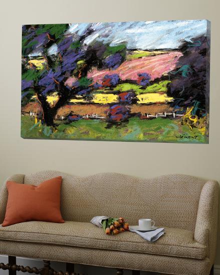 Pastel Landscape I-Jacques Clement-Loft Art