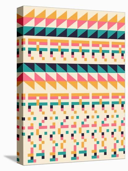 Pattern1-Florent Bodart-Stretched Canvas Print