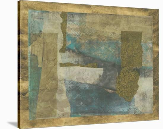 Patterned Remnants-Jennifer Goldberger-Stretched Canvas Print