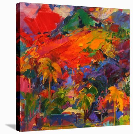 Paysage Polynesien, 2011-Peter Graham-Stretched Canvas Print