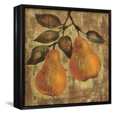 Pear-Silvia Vassileva-Framed Canvas Print