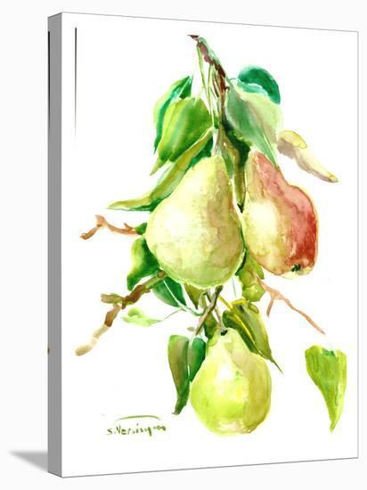 Pears-Suren Nersisyan-Stretched Canvas Print