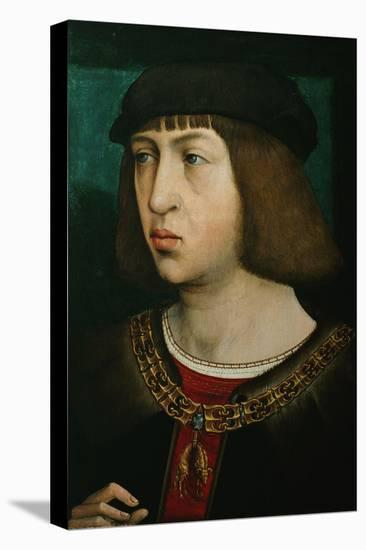 Philipp der Schoene (1478-1506), King of Castile-Juan de Flandes-Stretched Canvas Print