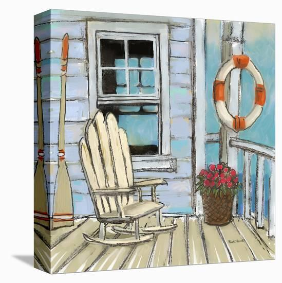 Pier Four-Rick Novak-Stretched Canvas Print