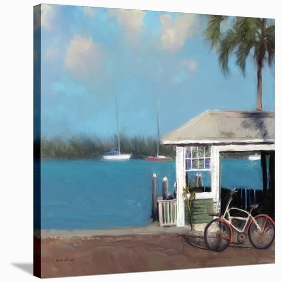 Pier One-Rick Novak-Stretched Canvas Print