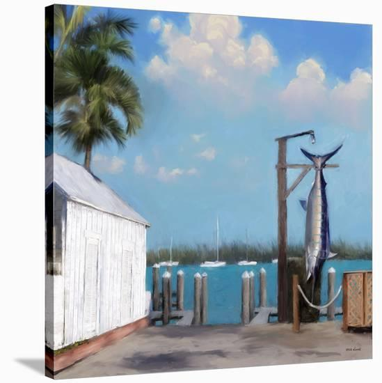 Pier Two-Rick Novak-Stretched Canvas Print