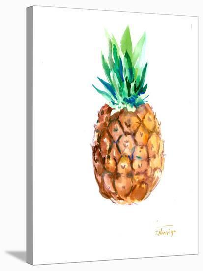 Pineapple-Suren Nersisyan-Stretched Canvas Print