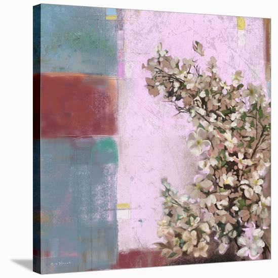 Pink Blossoms 01-Rick Novak-Stretched Canvas Print