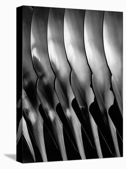 Plowshare Blades Made at Oliver Forges-Margaret Bourke-White-Stretched Canvas Print