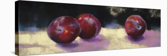 Plums-Nel Whatmore-Stretched Canvas Print