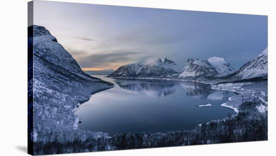 Polar Night-Tomasz Wozniak-Stretched Canvas Print