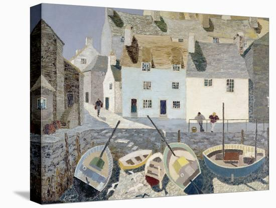 Polperro-Eric Hains-Stretched Canvas Print