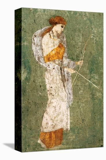 Pompeian Art, Diana--Stretched Canvas Print