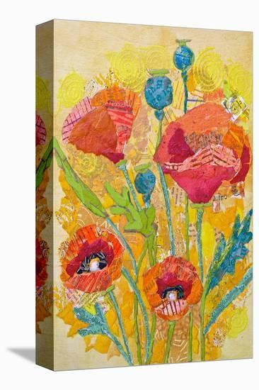 Poppies #2--Stretched Canvas Print