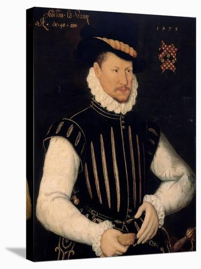 Portrait of a Gentleman, 1575-Cornelis Ketel-Stretched Canvas Print