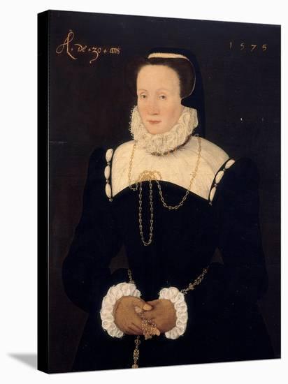 Portrait of a Lady, 1575-Cornelis Ketel-Stretched Canvas Print