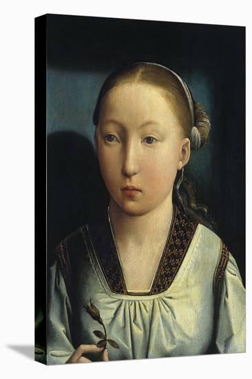 Portrait of Catherine of Aragon, C. 1496-Juan de Flandes-Premier Image Canvas
