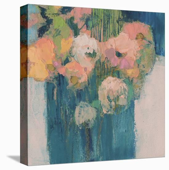 Posy II-Sue Jachimiec-Stretched Canvas Print