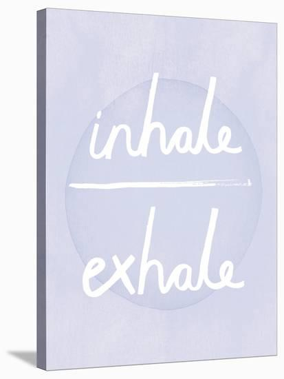 Prana - Inhale - Exhale-Sasha Blake-Stretched Canvas Print