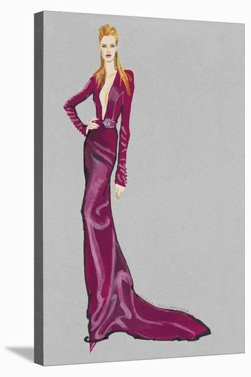 Premiere Pose III-Barbara Tyler Ahlfield-Stretched Canvas Print