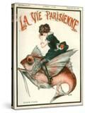 1920s France La Vie Parisienne Magazine Cover