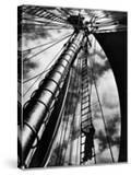 Lines Up the Mast of the Doris Hamlin